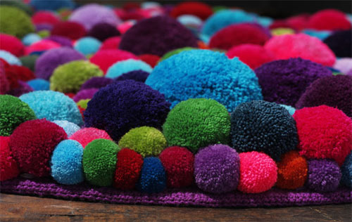 Cute colorful DIY Pom-Pom Crafts and Ideas-homesthetics (6)