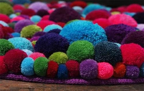 Cute colorful DIY Pom-Pom Crafts and Ideas-homesthetics (6)