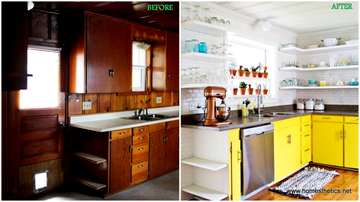 before after kitchen makeover projects to inspire your next home