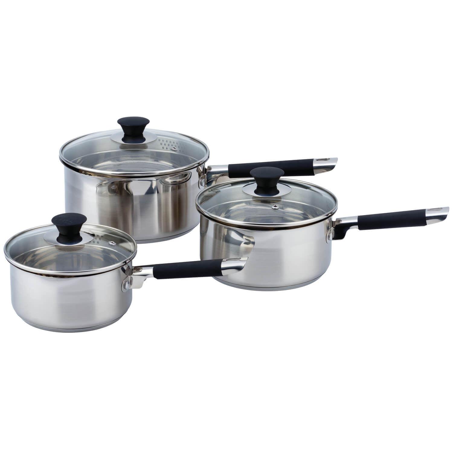 3 Pièces Cuisine Cuisine Draining 3 Piece Cookware Set Home Store 43 More