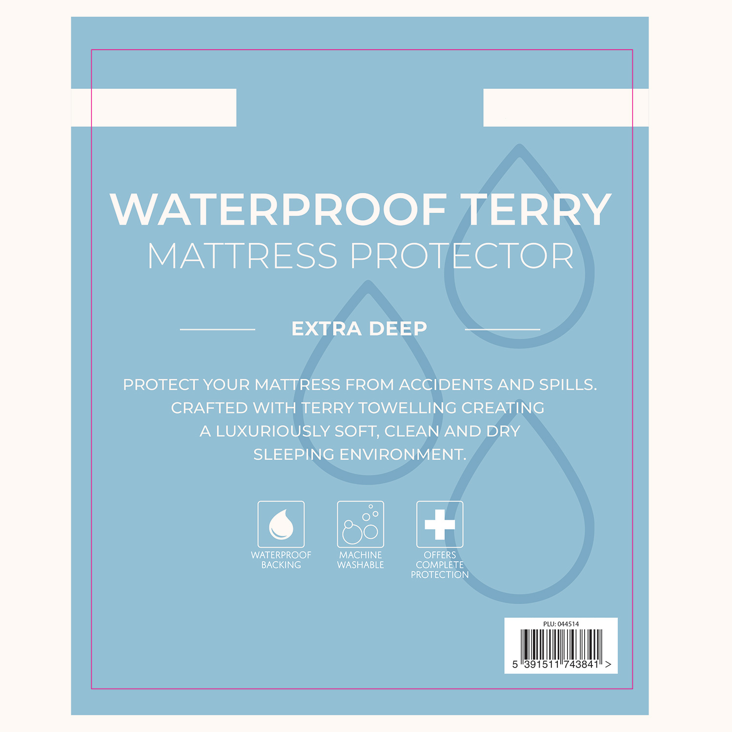 Super King Size Waterproof Mattress Protector Waterproof Terry Mattress Protector Home Store More
