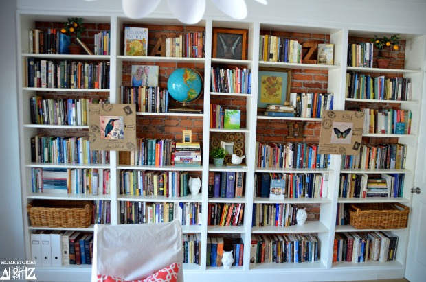 Ikea Billy Built In Bookshelves Bookcase Styling - Billy Regal Zierleiste