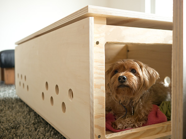 Hundebett Bauen 21 Stylish Dog Crates - Home Stories A To Z