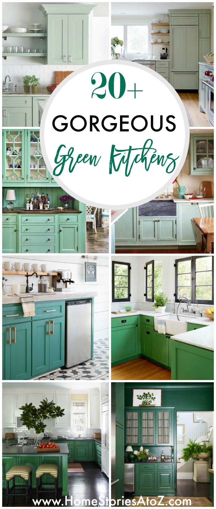 Photos Of White Kitchen Cabinets 20 Gorgeous Green Kitchen Cabinet Ideas