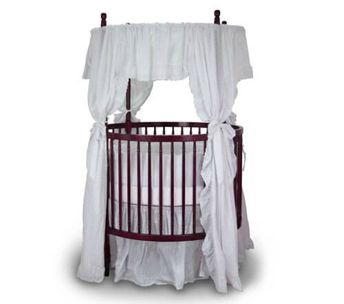 Baby Bassinet Linen 16 Beautiful Oval Round Baby Cribs For A Unique Nursery