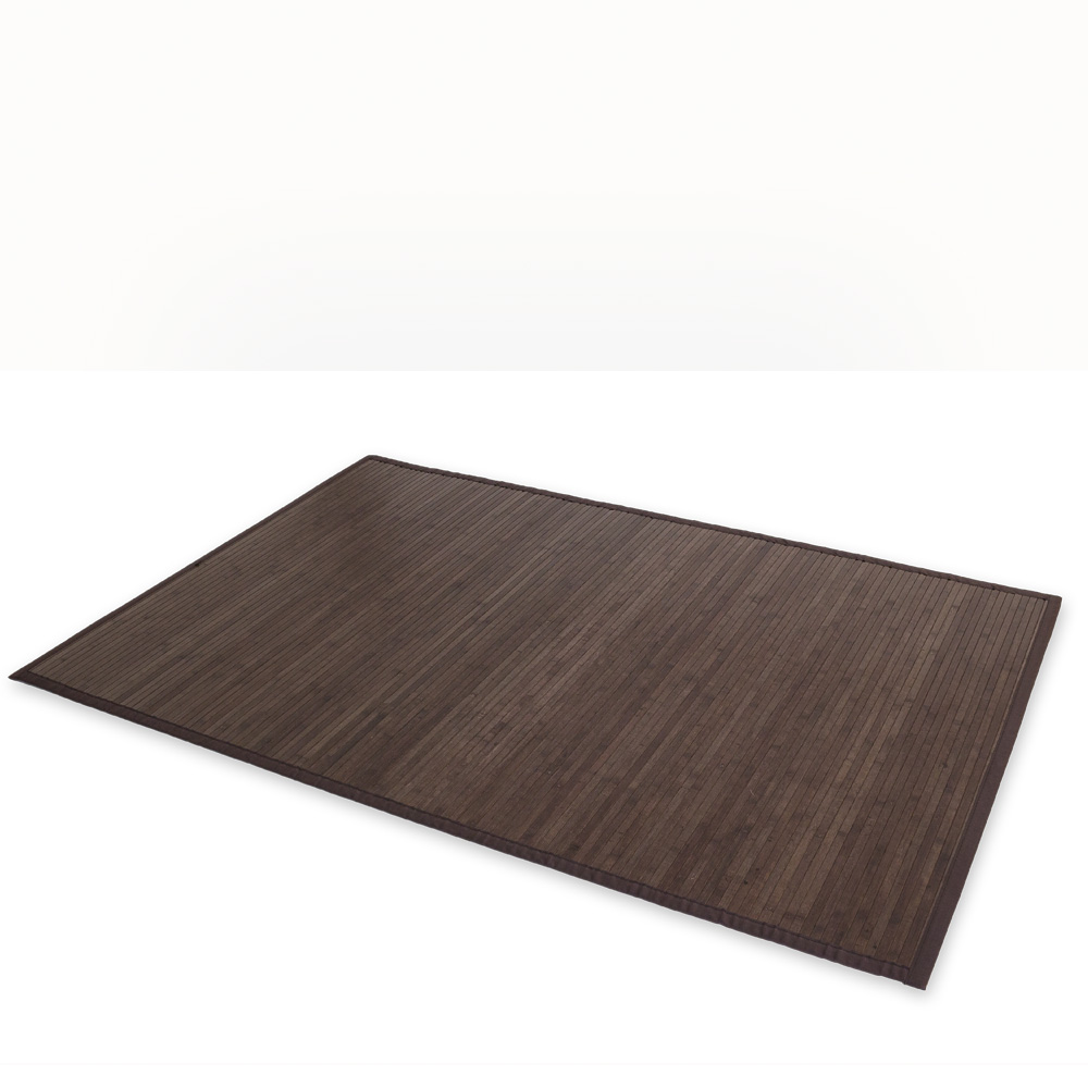 Bambus Teppich 160x230 Bamboo Carpet Rug 160x230 In Darkbrown