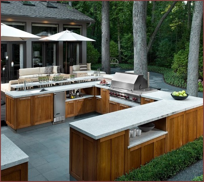 How To Build Outdoor Kitchen Cabinets Brick Grills And Outdoor Countertops: Building Your