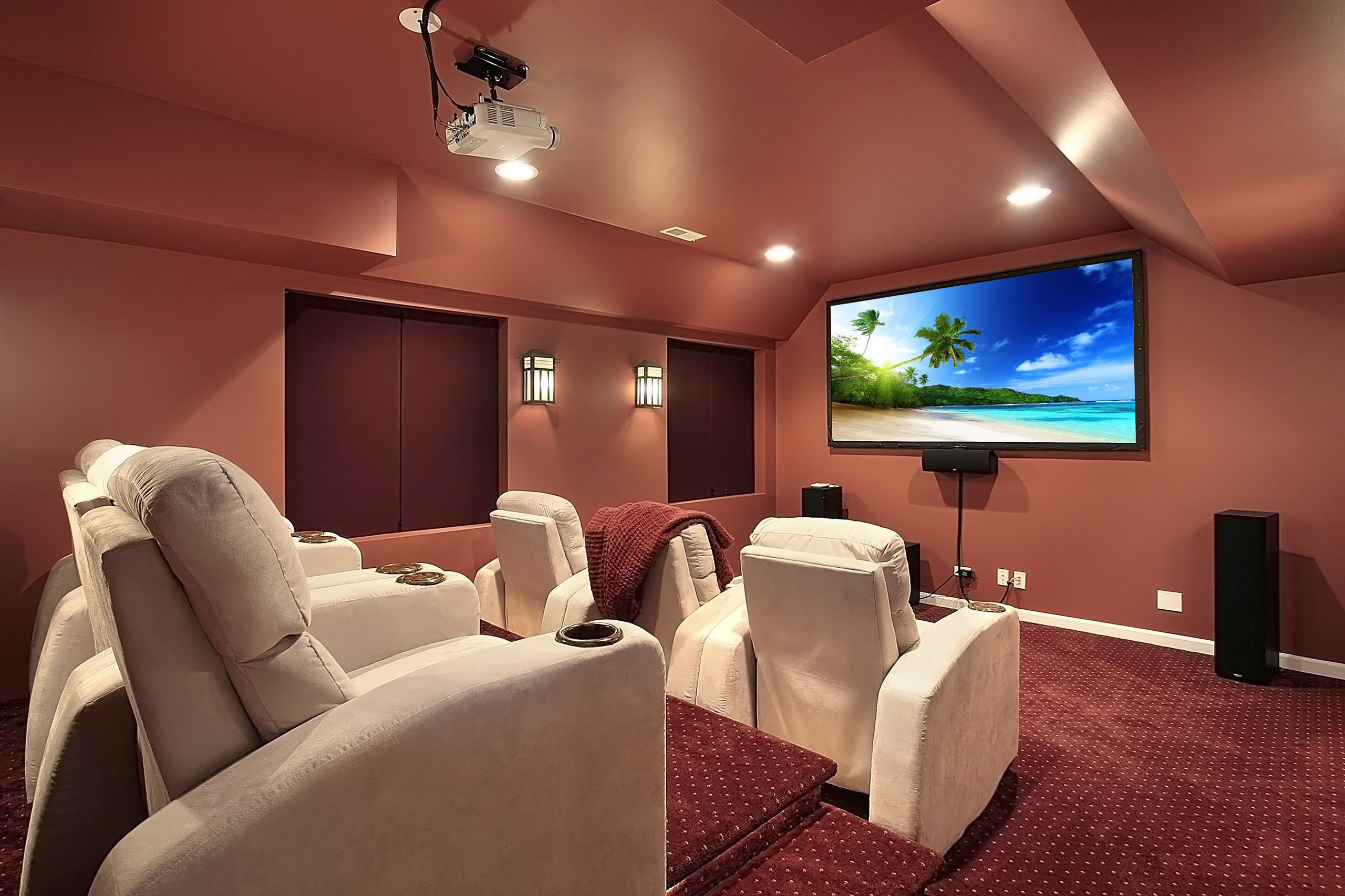 Home Theater Room Home Theater Installation Houston Home Cinema Installers