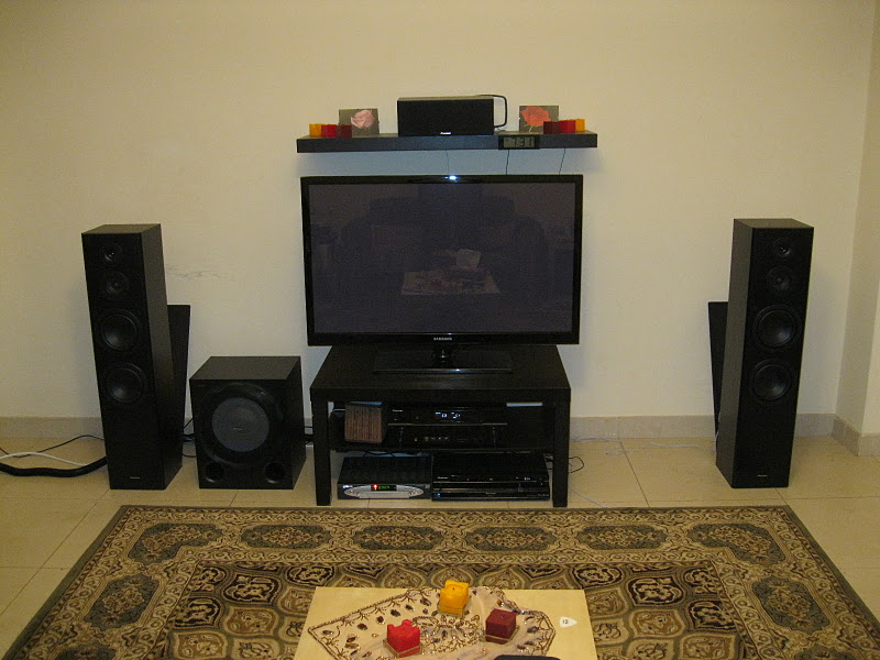 Bad Setup Problem With New Room Setup - Home Theater Forum And