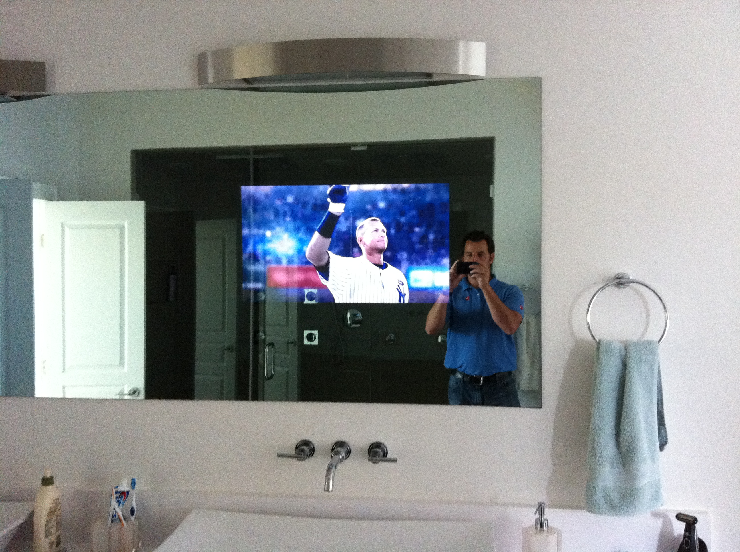 Charlotte Nc Bathroom Tv Installation Home Theater Solutions