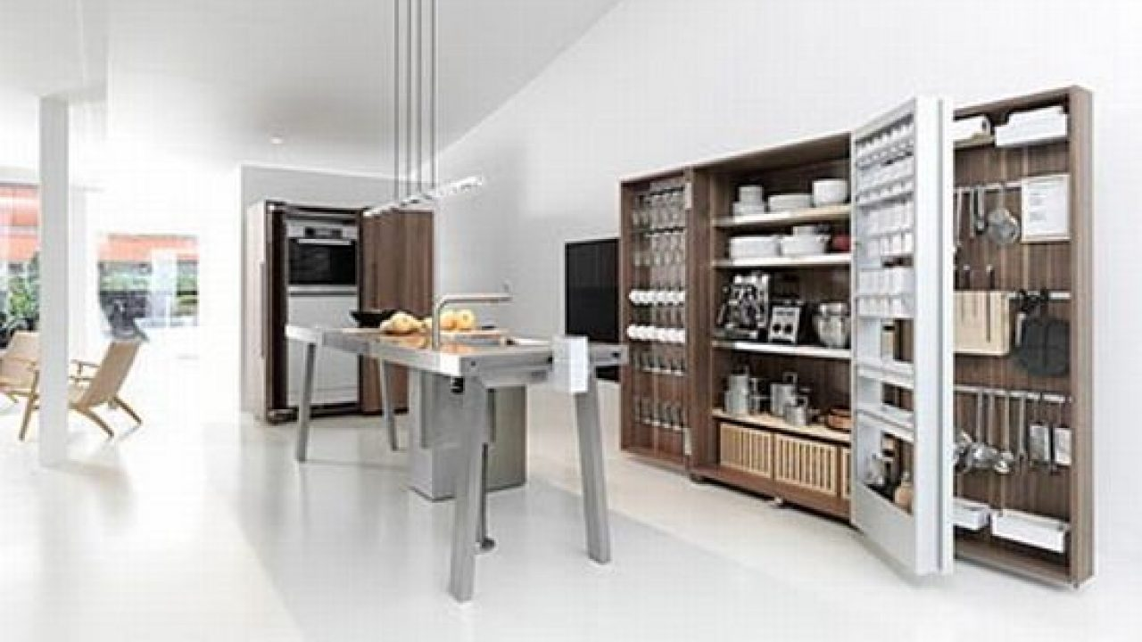 Bulthaup Keukenkast Bulthaup B2 Kitchen In The Closet Hometone Home