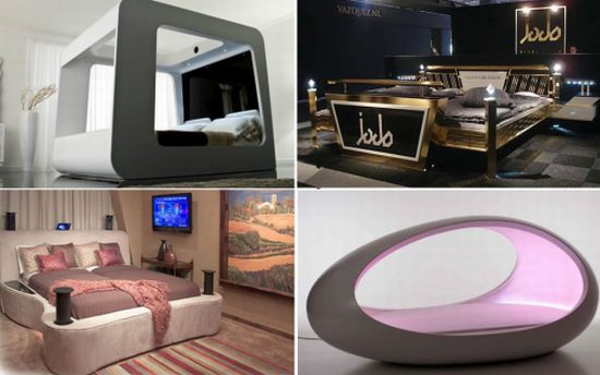 Best Office Decoration Most Amazing High Tech Luxury Beds - Hometone.org