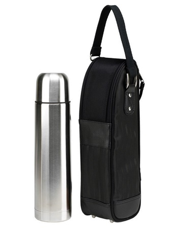 Picnic at Ascot 385NYC New York Coffee Thermal Flask Tote Set