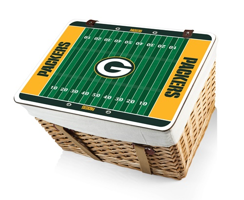 Green Bay Packers Canasta Grande Picnic Basket