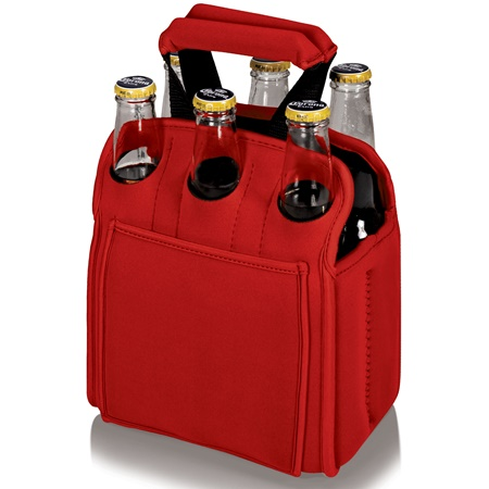 Six Pack Neoprene Cooler Tote