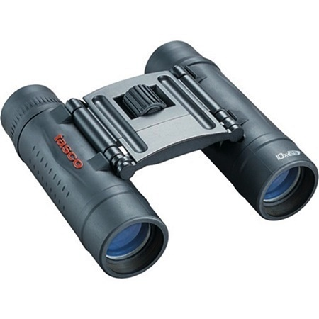 Tasco Essentials 10x 25mm Roof Prism Binoculars