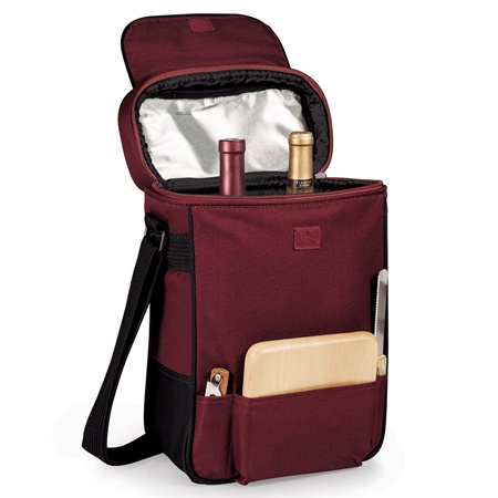 Duet Two Bottle Wine Cheese Tote
