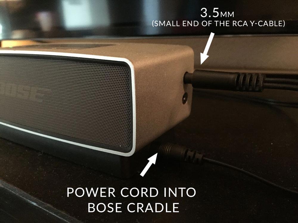 Rca sound bar hook up