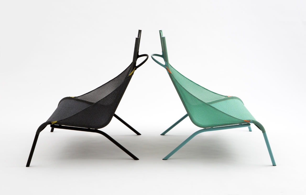 Knitted Furniture 3d Knitted Tent Chair By Layer Home Vanities