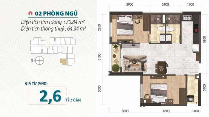Layout Saigon Asiana