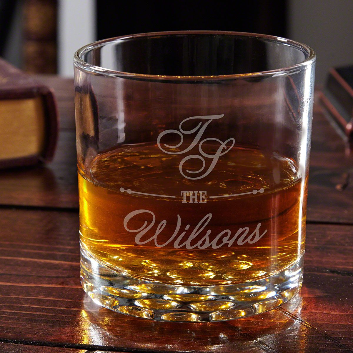 Wisky Glas Sheridan Engraved Whiskey Glass