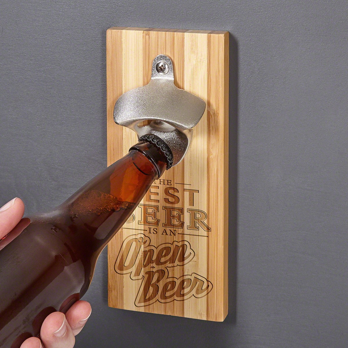 Best Bottle Opener Only The Best Beer Bamboo Magnetic Bottle Opener