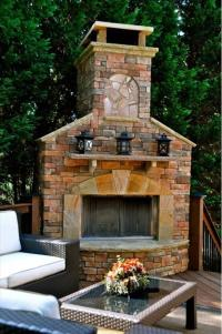 6 Beautiful Outdoor Fireplaces | Home with Design