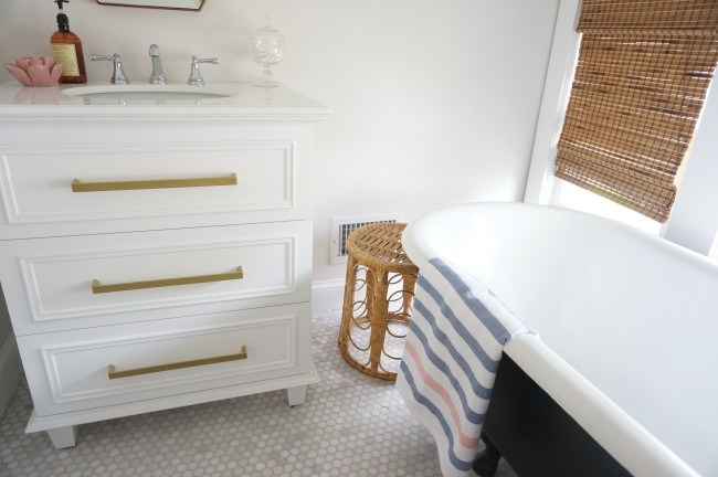 Vanity Mirror With Lights Craigslist : Before + After: Attic Bathroom HomeWork Design Co.