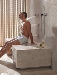 Comfort Shower from Dornbracht lets you shower while ...