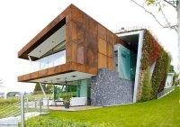 Eco friendly house design - Villa Jewel Box with an ...