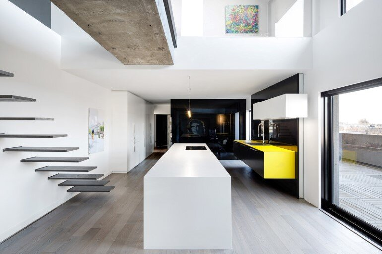 Koch Insel Habitat 67: Minimalist Apartment Design In Montreal