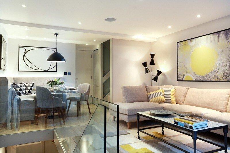 Highgate house designed by LLI Design.