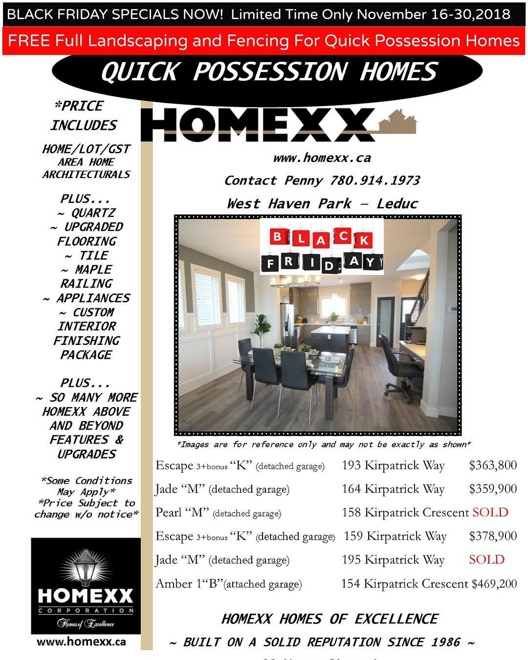 Black Friday Specials Black Friday Special Homexx
