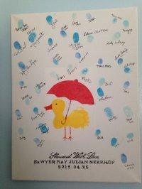 20 Creative Baby Shower Guest Book DIY Ideas 2017