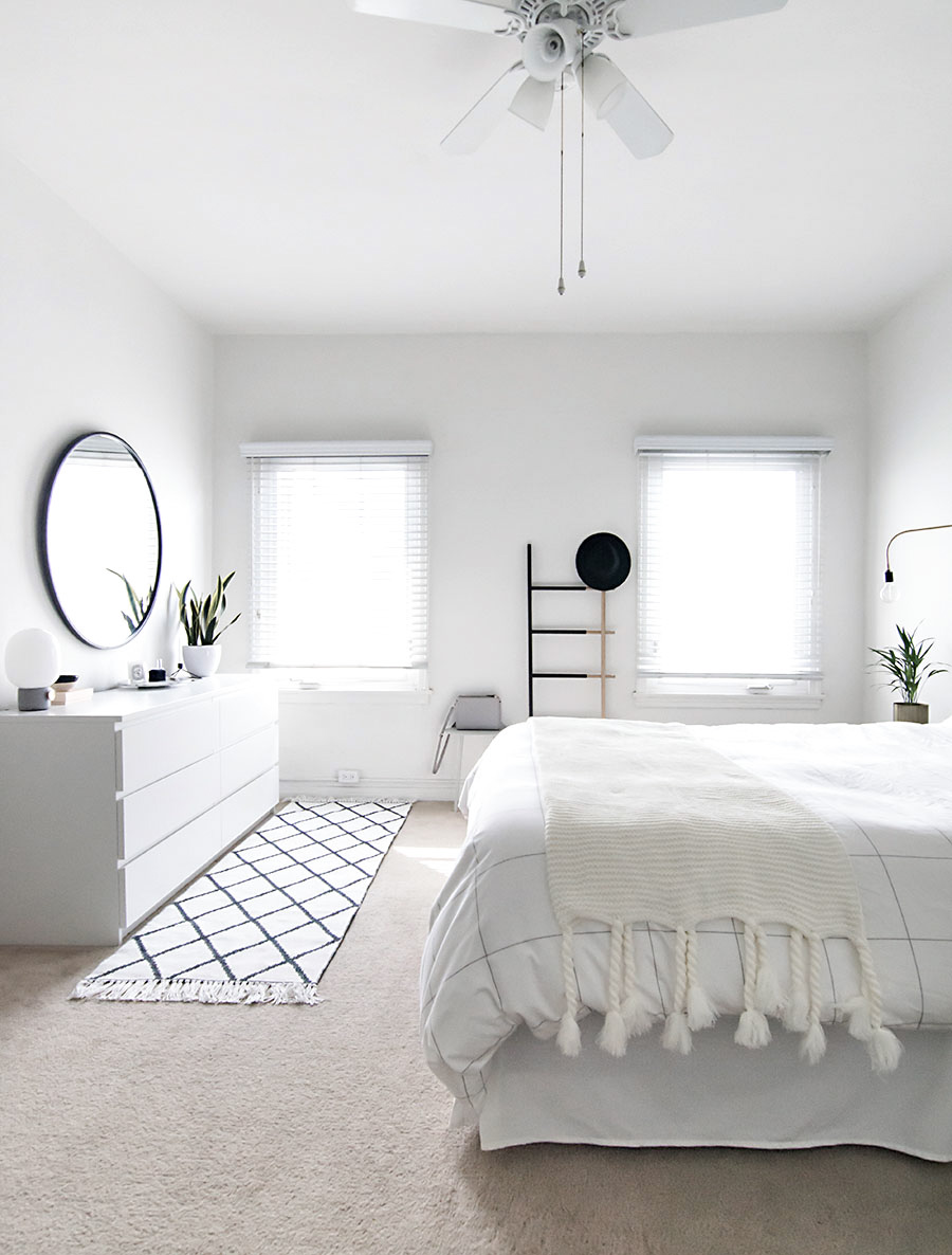 White Decoration Bedroom How To Achieve A Minimal Scandinavian Bedroom Homey Oh My