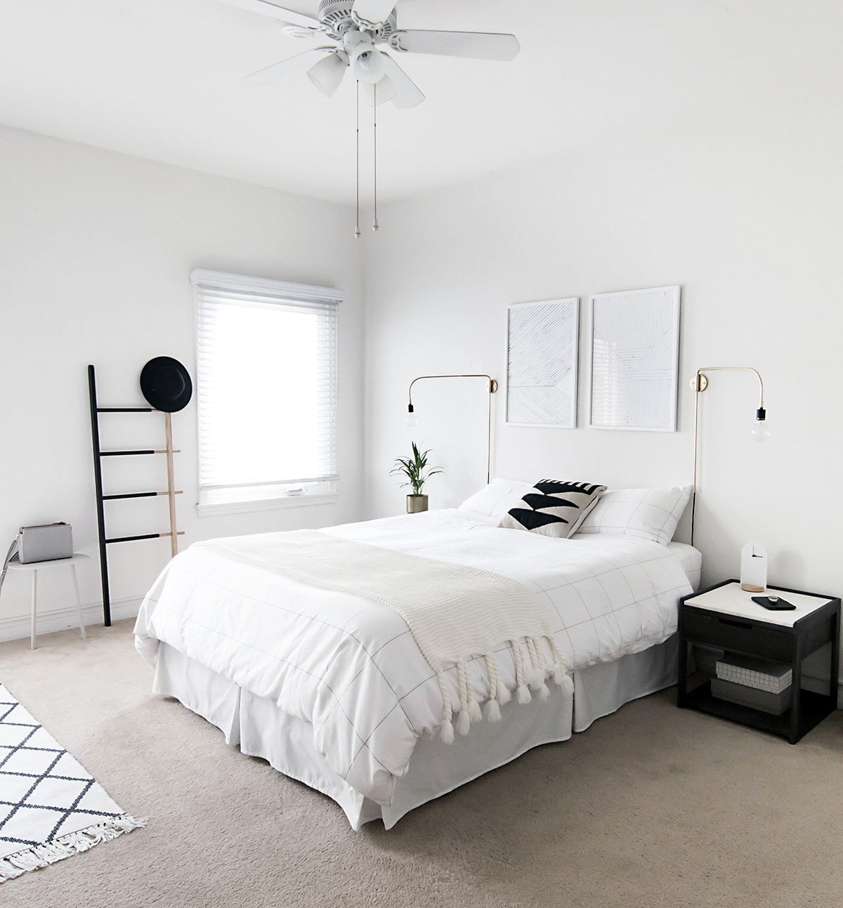 Scandinavian Furniture Bed How To Achieve A Minimal Scandinavian Bedroom Homey Oh My