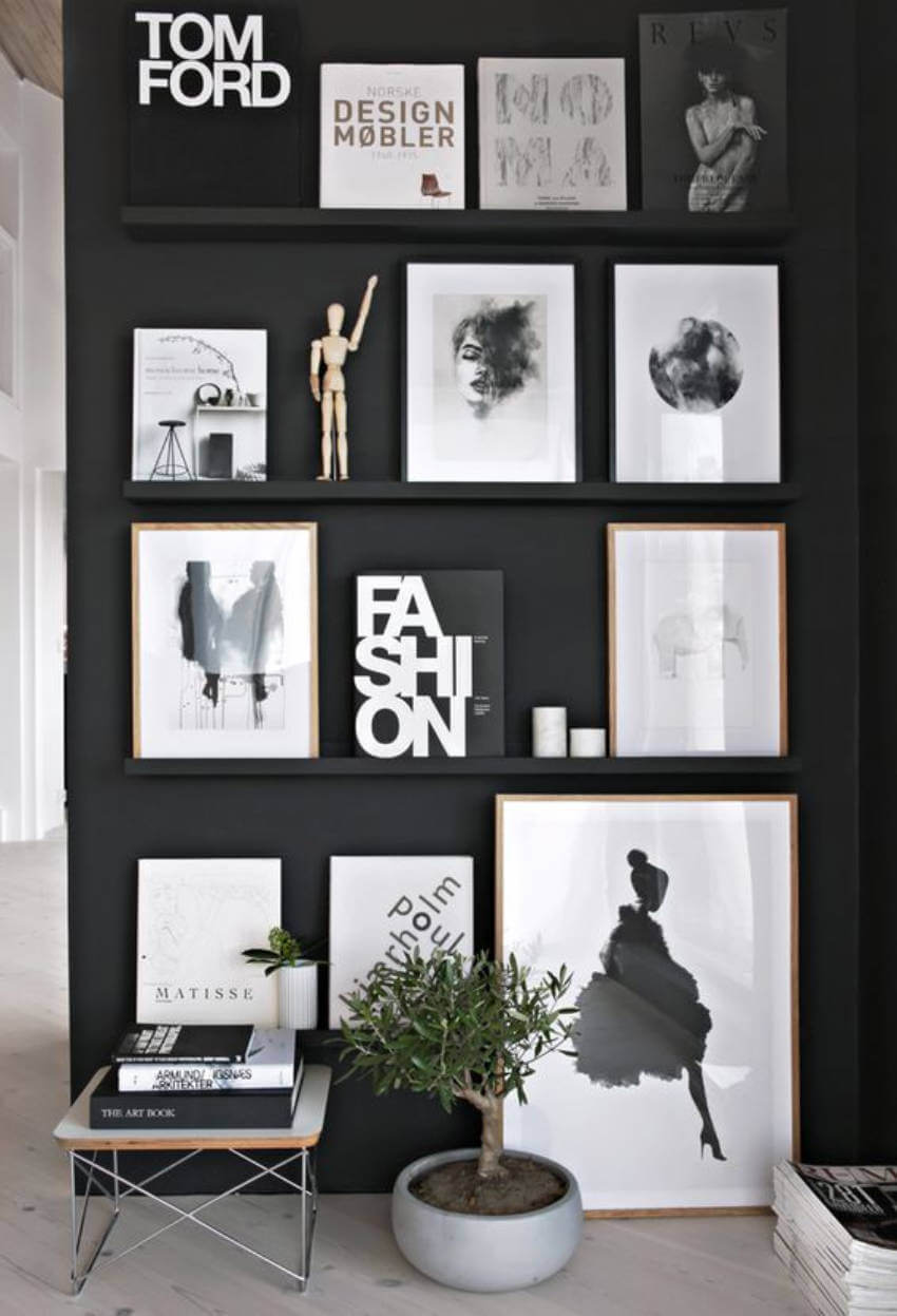Black Accent Walls 9 Inspiring Black Accent Walls That Look Gorgeous Homeyou