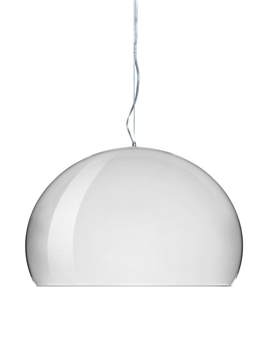 Lampada Soffitto Kartell Lampada Small Fly Metallizzata Flyel/kartell Di Kartell In