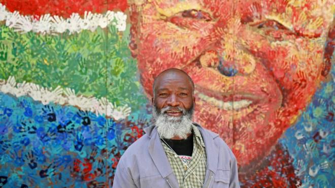 Février 2010 dans une rue de Cape Town