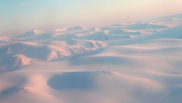 le grand blanc, quelque part au-dessus du Pôle Nord