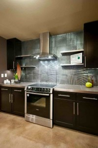 2015 Kitchen Ideas with Fascinating Wall Treatment