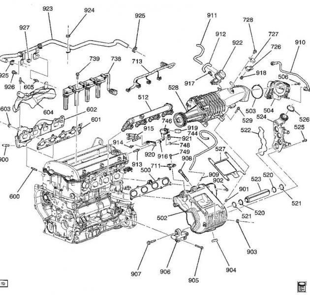 2009 cobalt ss engine diagram