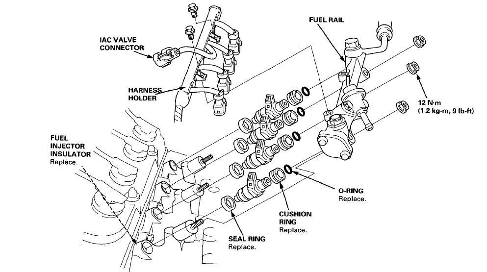 honda crv fuel filter problems