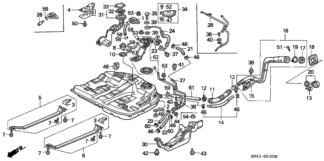 1990 honda accord fuel filter diagram