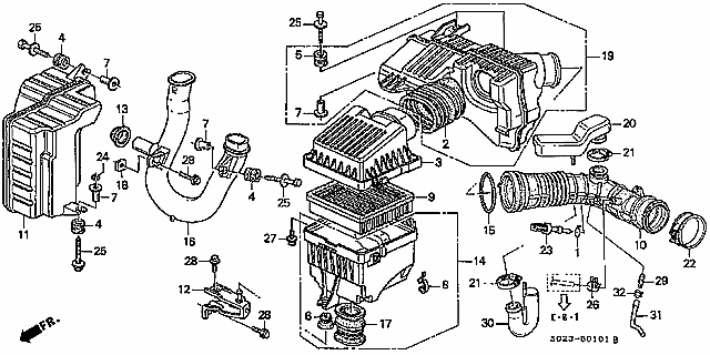 96 00 civic fuse box diagram