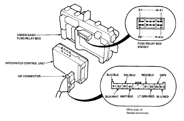 1999 honda accord wiper wiring diagram