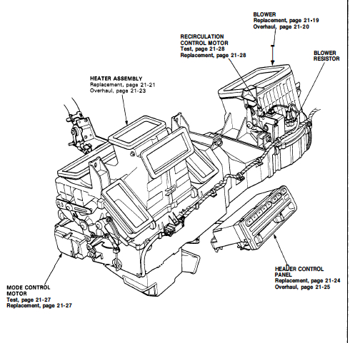 92 Rhd Prelude Wire Harness Index listing of wiring diagrams
