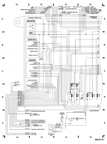 1988 honda crx si fuse diagram
