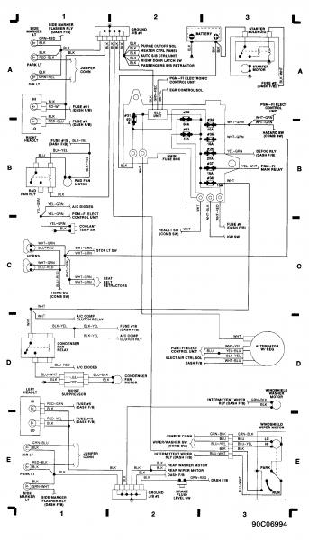 obd0 to obd2 alternator wiring diagram