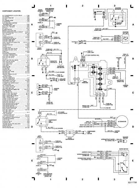 1991 honda crx si wiring diagram